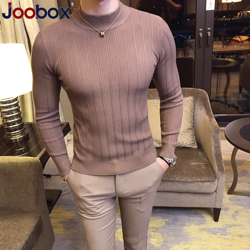 Sweater Men 2018 Male Brand Casual Sweater Men Solid Color Comfortable Mens Christmas Sweater Round Neck Slim Fit Pull Homme 2xl