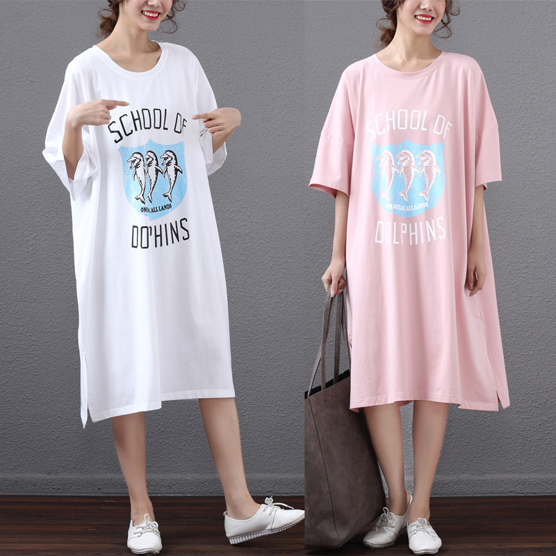 2019 Summer New Arrival Loose Female T-shirt Plus Size