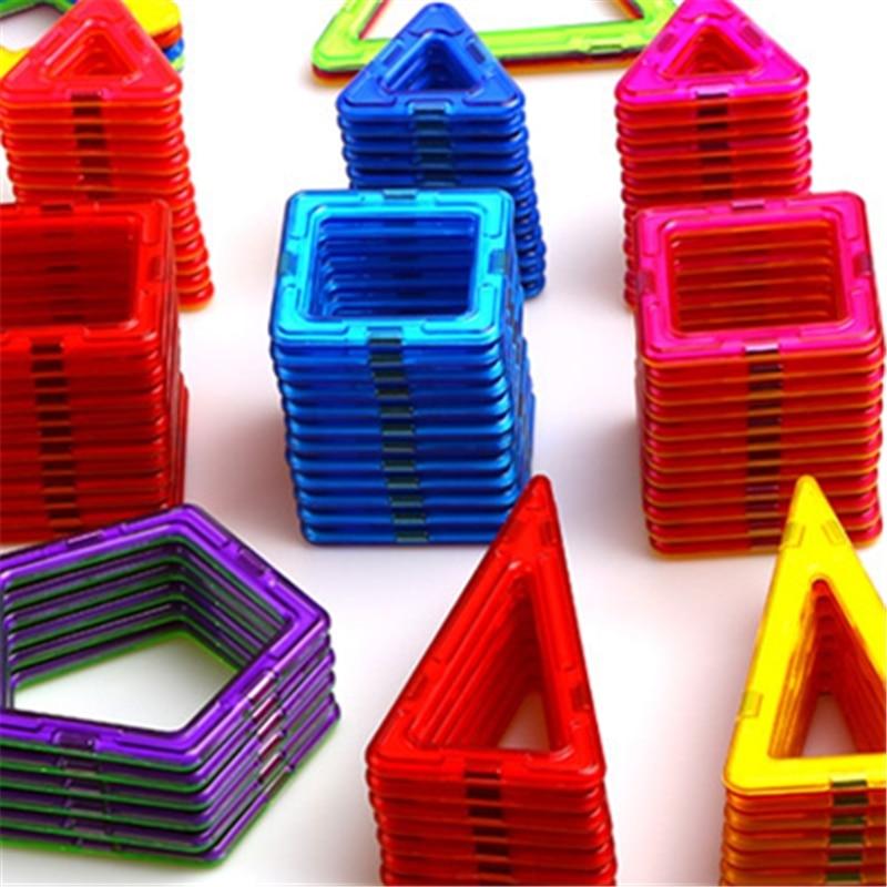 32 PCS ukuran standar blok bangunan magnetik Model Bangunan Mainan - Mainan bangunan dan konstruksi - Foto 3