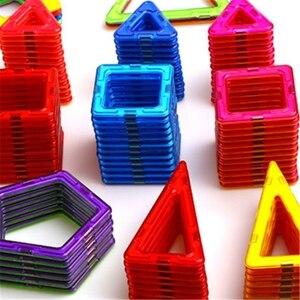 Image 3 - 32 pièces taille standard blocs de construction magnétiques modèle construction jouets brique concepteur éclairer briques jouets magnétiques