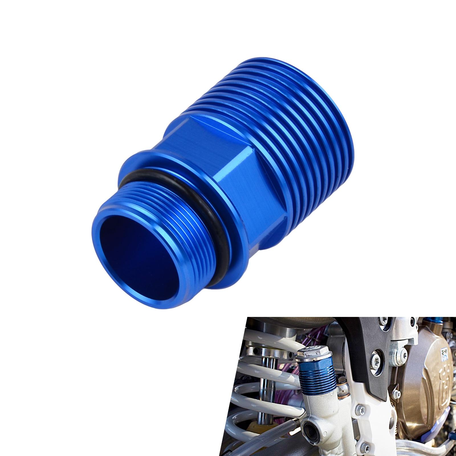 NICECNC CNC Rear Brake Reservoir Extender For Husqvarna TE FE TC FC 125 250 300 350 450 501 2014 2015 2016 TE250 FE350 FE450 nicecnc cnc billet brake clutch