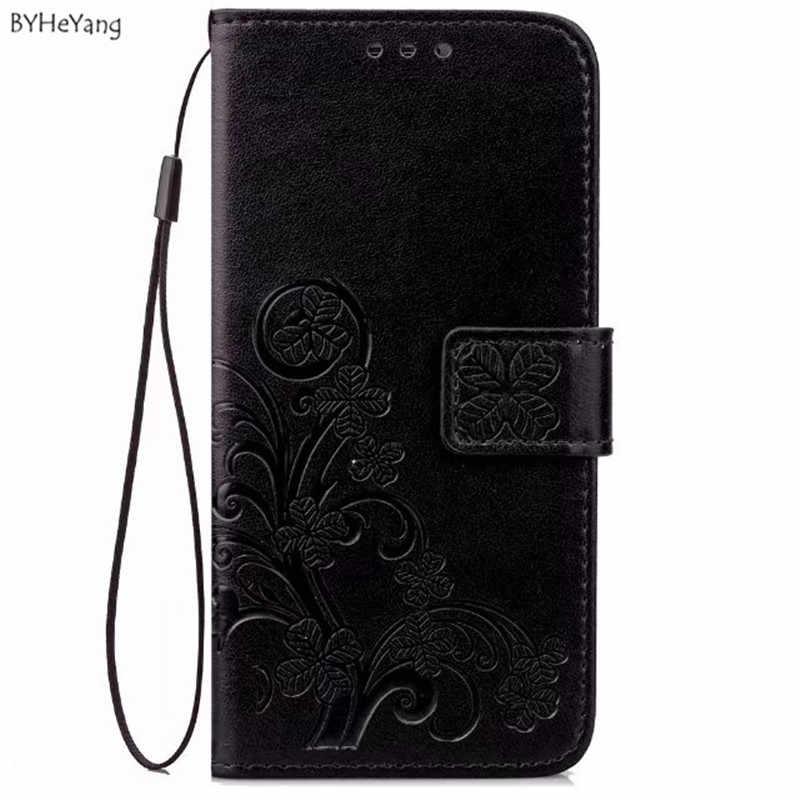BYHeYang etui do Samsung Galaxy J7 2017 J730F J730 ue eurazjatycka wersja przypadku silikonowe SKÓRZANY PORTFEL pokrywa torby telefon sprawach