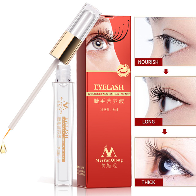 2807a5ba4ba Herbal Eyelash Growth Treatments Liquid Serum Enhancer Eye Lash Longer  Thicker Better than Eyelash Extension Powerful Makeup. Price: