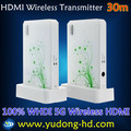 WHDI Technology 5G Wireless HDMI Transmitter 30M and Receiver Wireless HDMI Extender 30m Zero Latency