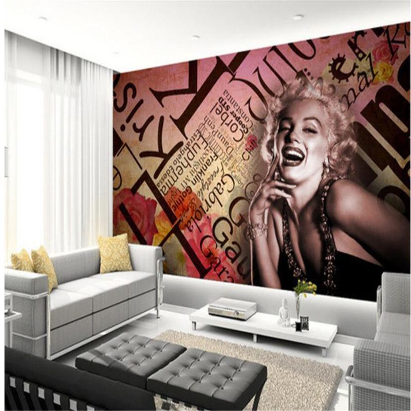 beibehang <font><b>Mural</b></font> <font><b>3d</b></font> Customized <font><b>3d</b></font> living room <font><b>wallpaper</b></font> European and American style <font><b>sexy</b></font> beauty <font><b>photo</b></font> bar background <font><b>3d</b></font> <font><b>wallpaper</b></font> image