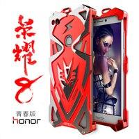 Huawei Honor 8 Lite Metal Case Original Design PUNK Armor Heavy Dust Supper Hero IRONMAN Phone