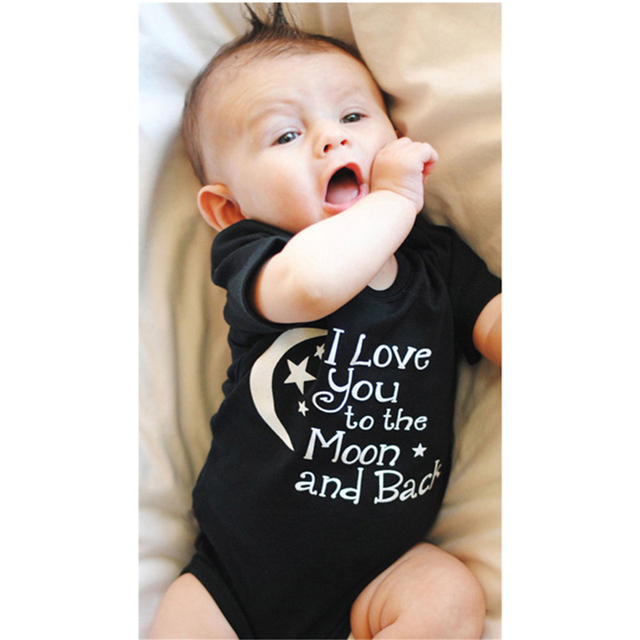 Baby's Letter Printed Romper