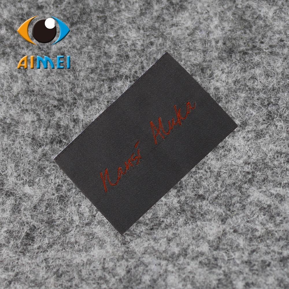 Free Design & Free Shipping Customized 500pcs/lot cotton fashion Women or men clothing labels / woven labels/ main labels PJ006