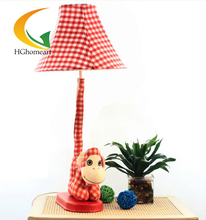 ornaments cartoon cloth cute little monkey desk lamp floor lamp pudding love life