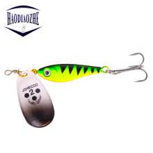 Купить с кэшбэком 1PCS Rotating Sequins Fishing Lure 11g/15g/20g Hooks Spinner Spoon Metal Baits Sequins Bait Wobblers Bass Trout Perch Pike Pesca