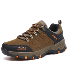Man Outdoor Hiking Shoes fishing Athletic Trekking Boots Women Climbing Walking Sneskers large Outventure Hunting Shoes