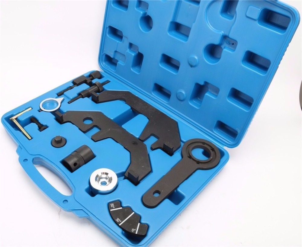 12Pcs For BMW N62 N73 Engine Alignment Camshaft Crankshaft Timing Tool Kit For 745i 545i 645i 750i Car Diagnostic Tool цена