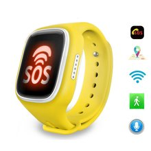 2017 ZhiYuTech New Kids Smart Watch GPS Children Smart Watch with SOS Support GSM Phone Android&IOS Anti Lost A6 Baby Watch