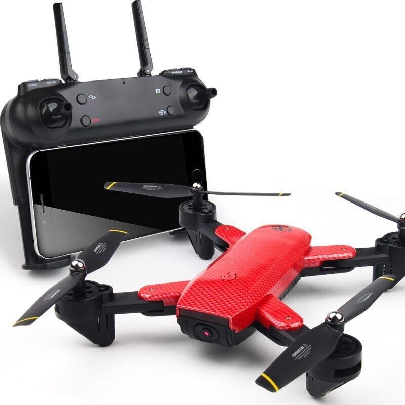 Nuova Macchina Fotografica Drone Con La Macchina Fotografica HD Dron Flusso Ottico Posizionamento Quadrocopter il Mantenimento di Quota FPV Quadcopter Pieghevole RC Elicottero