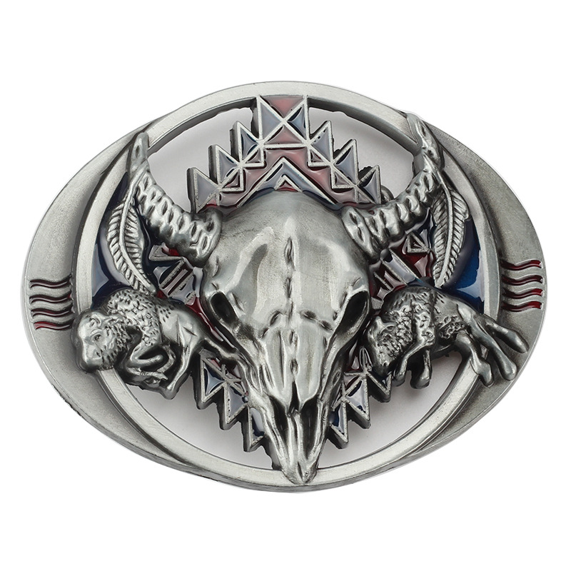 Tauren Belt Buckle Smooth Hollow Head