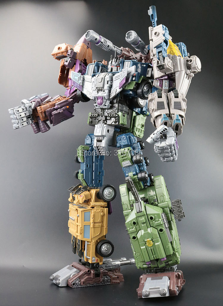 JinBao Transformation G1 WB Bruticus Onslaught Brawl Swindle Blast Off Vortex Oversize 5IN1 KO Action Figure