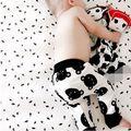 Новорожденный Ребенок Брюки Мальчик Девушки Шаровары Случайные Брюки Брюки 6 9 12 18 24 Месяцев