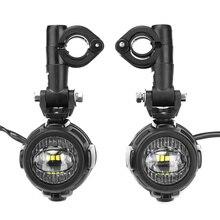 FADUIES пара Универсальный мотоцикл светодиодный дополнительная противотуманная лампа для вождения 40 Вт Светодиодный фонарь для BMW K1600 R1200GS ADV