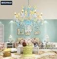 SHIXNIMAO Принцесса хрустальная лампа бесплатная доставка роскошный хрустальная люстра современный  дизайнерский с кристаллами лампа