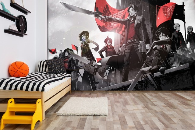 Attack On Titan Anime Wall Paper Decal
