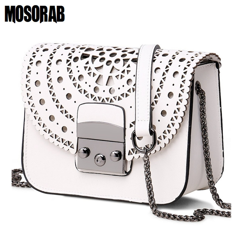 MOSORAB Fashion Women Small Bags Hollow Out Leather Women Crossbody Bag Famous Brand Ladies Messenger Shoulder Bag Clutch Purse children room captain bear modern table lamp kids wooden desk lamp e14 110v 220v reading led lamp switch button study lamps