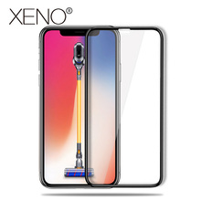 5D Full Cover Edge Tempered Glass For iphone X 8 7 6 Plus case Screen back screen protector Protective Protector Film case for 2016 new kobo aura one 7 8 ereader silk grain protective skin case smart cover screen protector film stylus