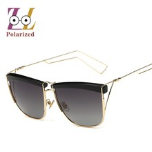 2017 new metal frame Retro vintage Polarized sunglasses Mirror men  Fashionable Exclusive sun glasses for women