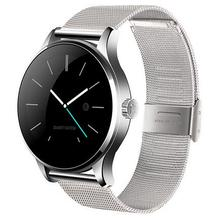 Neue Wasserdichte Intelligente Uhr K88h smartwatch für iphone android phone pulsmesser fitness tracker Mp3 tragbare geräte