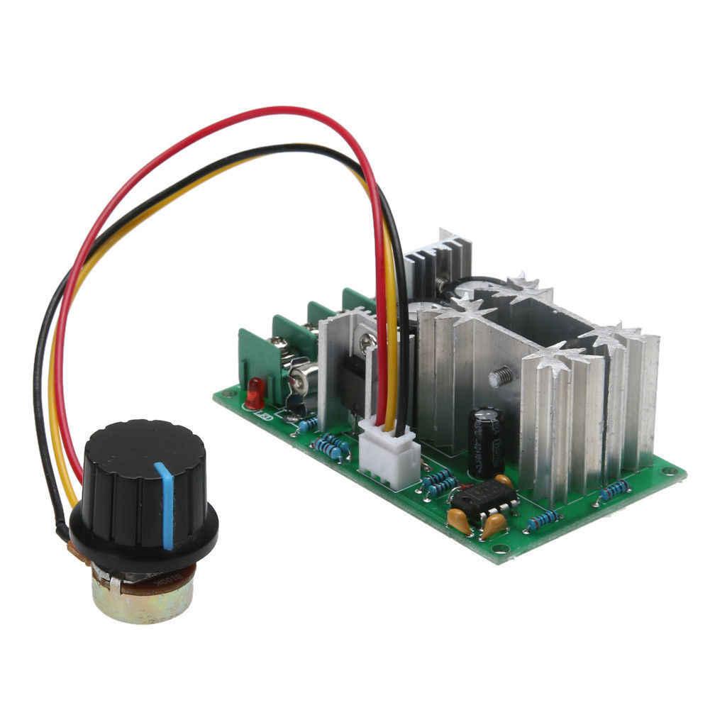 Module de contrôleur de vitesse du moteur de ventilateur PWM 1200 W 20A DC 12 V/24 V/36 V/48 V/60 V 25 KHZ SKD88