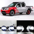 2x New Super Bright LED Daytime Running Luz DRL Bares + Q5 Lens Foglight Para Nissan Frontier