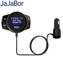Jajabor Bluetooth Handsfree Car Kit Fm-zender Auto MP3 Speler A2DP Draadloze Fm Modulator Ondersteuning Tf-kaart U Disk Afspelen