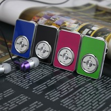 High Quality Brand New Mini Clips mp3 Player Sports Portable