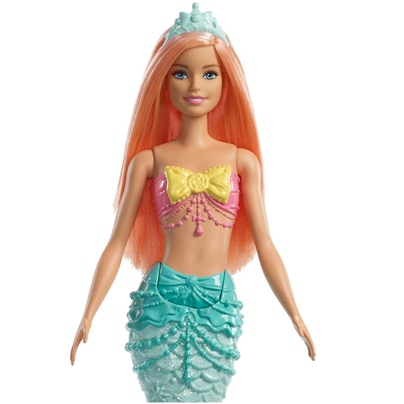 Original Brand Mermaid Barbie Doll Rainbow Lights The Girls Toys For Chilren A Birthday Present Gift Boneca baby princess dolls in Dolls from Toys Hobbies