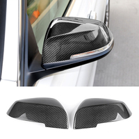 Look Replacement style Carbon Fiber Mirror Cover For BMW 1 2 3 4 Series F20 F30 F31 F32 F36 2012 UP 320i 328i 330d 335i M3 M4