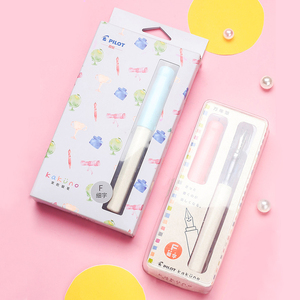 Image 5 - PILOT KAKUNO stylo sourire FKA 1SR populaire, pratique décriture quotidienne, pour mots assortis, pochette dencre, en vente