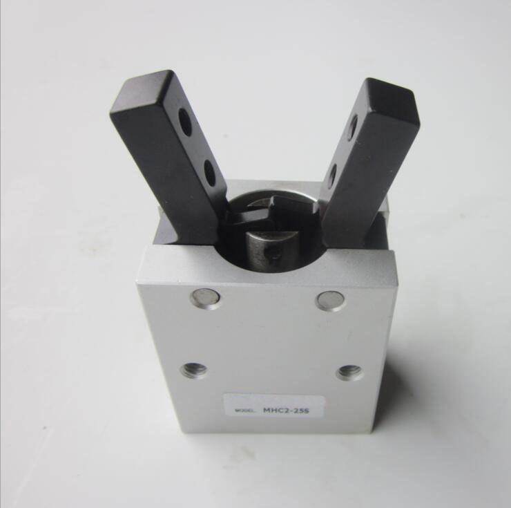 bore 10mm  SMC Style MHC2 Series single acting Air Gripper Cylinder dhl ems smc new mhcm2 7s plc gripper mini industrial air cylinder mhc mhc2 grippers