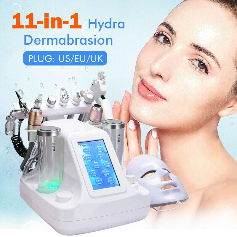 11 In 1 Hydra Dermabrasion RF Bio-lifting Spa Facial Machine Water Jet Hydro Diamond Peeling Microdermabrasion