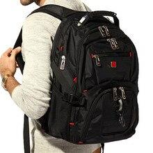 2016 New Swiss Men Laptop Backpack Mochila Masculina 15 Inch Man s Backpacks Men s Luggage