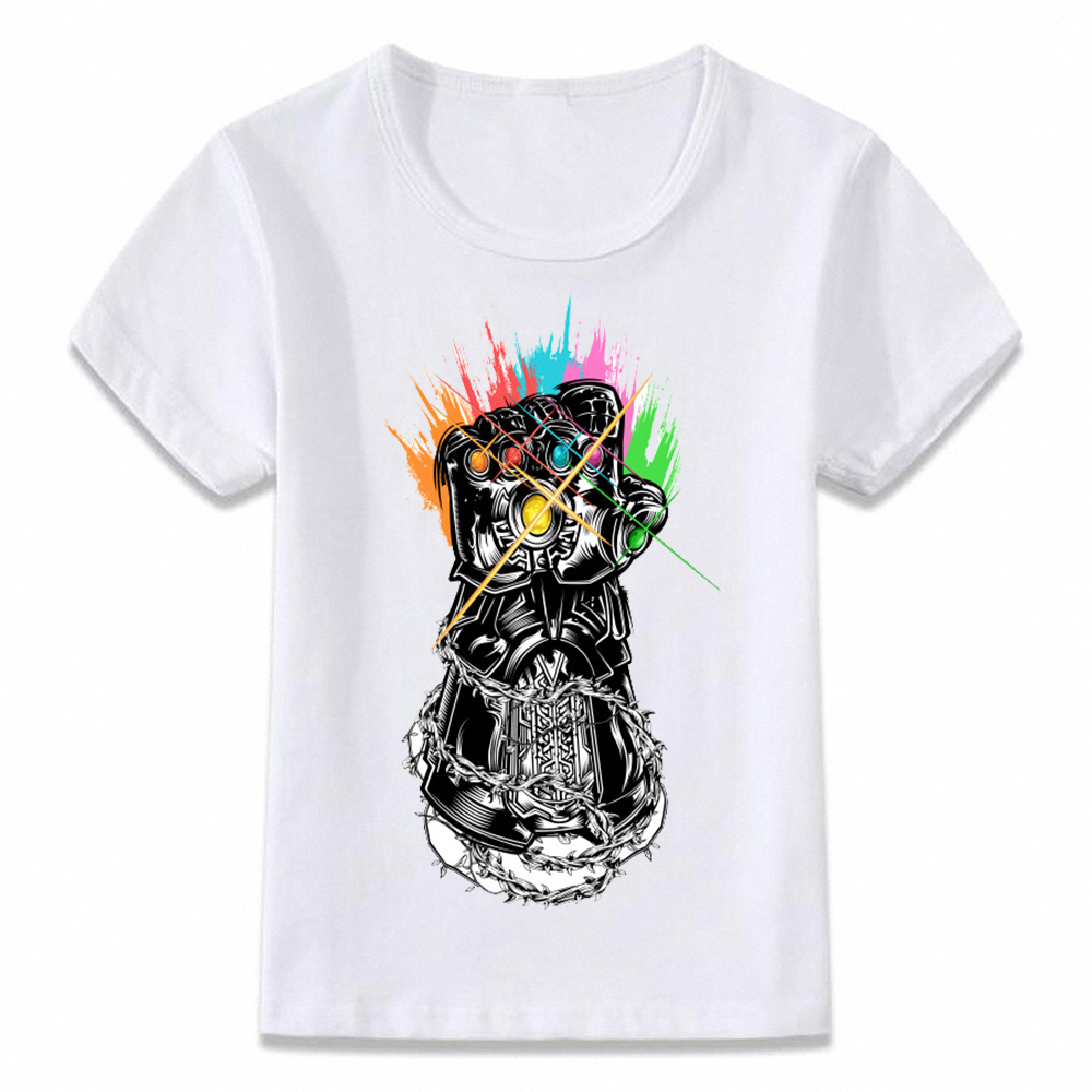 dfb74abac11 Kids Clothes T Shirt Avengers Infinity War Thanos Thor T shirt Boys and Girls  Toddler Tee-in T-Shirts from Mother   Kids on Aliexpress.com