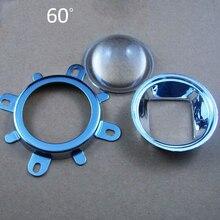 High Quality 1 Set 20W 30W 50W 70W 100W 120W LED 44mm Lens + 50mmReflector Collimator + Fixed Bracket