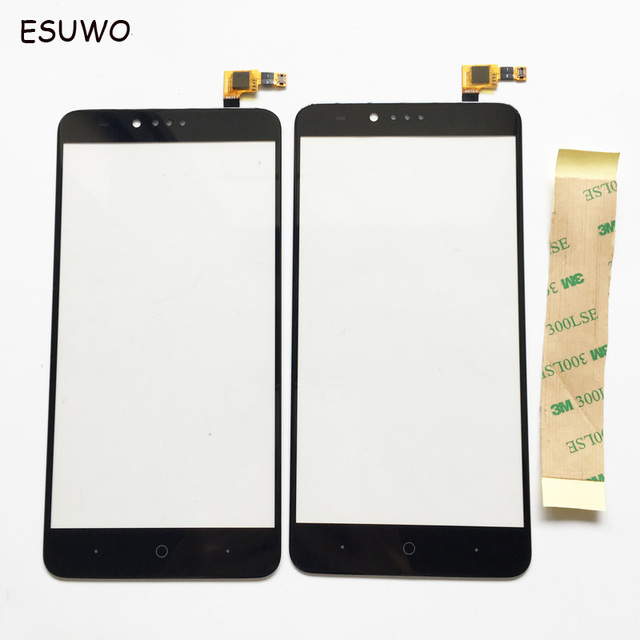 ESUWO New Touch Panel Sensor Touchscreen For ZTE Zmax pro Z981 Touch Screen Digitizer Front Glass