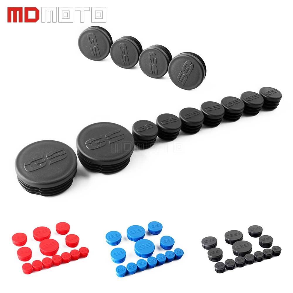 Motorcycle Frame Hole Caps Decor Cover Plugs Kit For BMW R1200GS LC Adventure R1200 GS 2013 2014 2015-2017 2018 R 1200 GS ADV