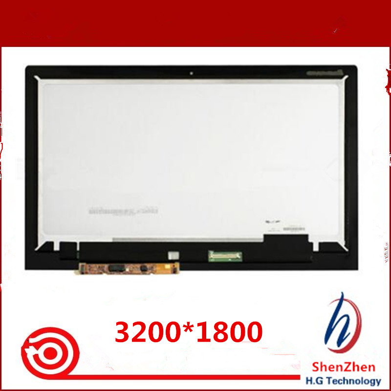 Original New for Lenovo Ideapad Yoga 2 Pro Yoga2 Pro 13 13.3 lcd assembly screen with touch panel digitizer LTN133YL01-L01 image
