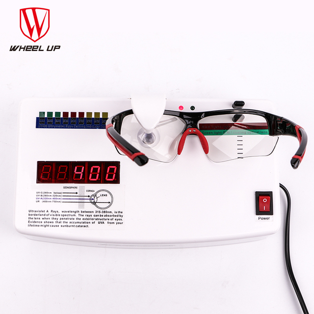 WHEEL UP Photochromic Cycling Glasses Discoloration Glasses MTB Road Bike Sport Sunglasses Bike Eyewear Anti-UV Bicycle Goggles