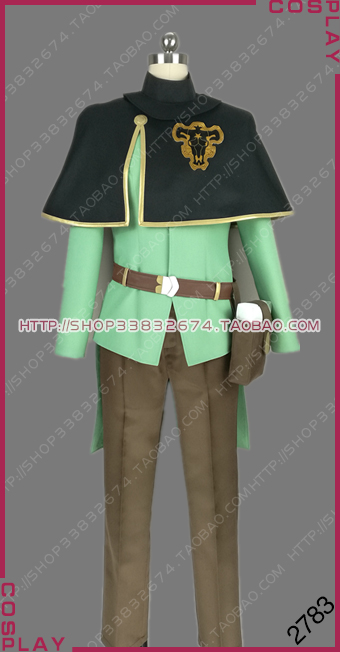 Black Clover Finral Roulacase Cosplay Costume Custom Any Size 2783