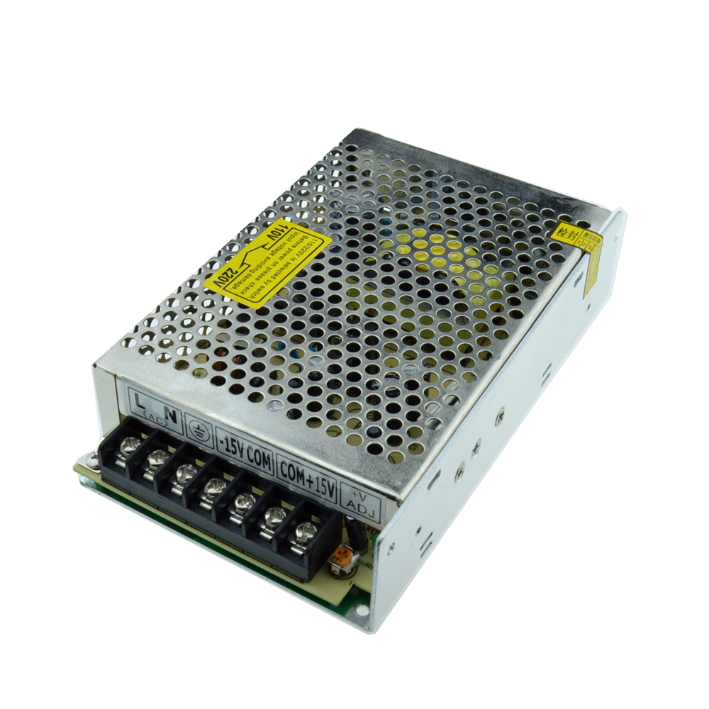 Led driver 60W -15V +15V 2A Dual Output  Adjustable Switching power supply for LED Strip light  AC-DC Converter 90w led driver dc40v 2 7a high power led driver for flood light street light ip65 constant current drive power supply