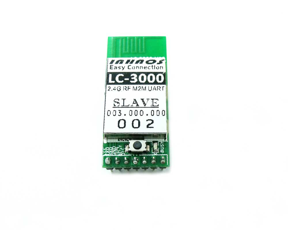 LC-3000-Slave Multi ke Multi 2.4 GHz Wireless RF UART Transveiver Data Modul 115 Kbps Upload jarak jauh sektch IoT