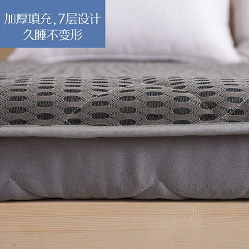 4D Breathable Mesh Fabric Hard Sponge Filling Mattress 8cm Thickness  Double Sided Four Seasons Folding Bed  Product
