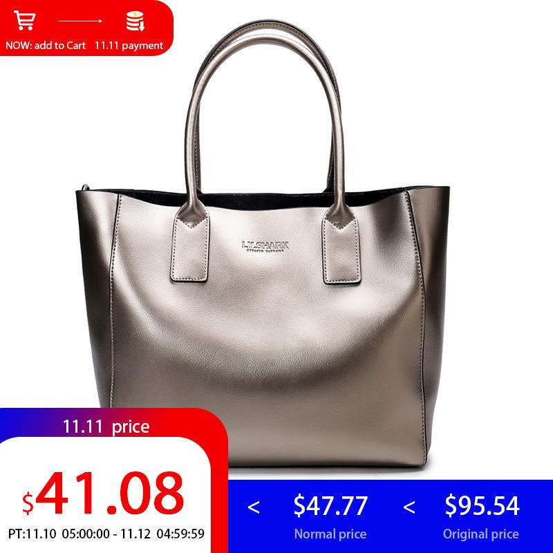 LY.SHARK female bag ladies genuine leather women bag shoulder messenger bag women handbag big famous brand designer fashion tote цены