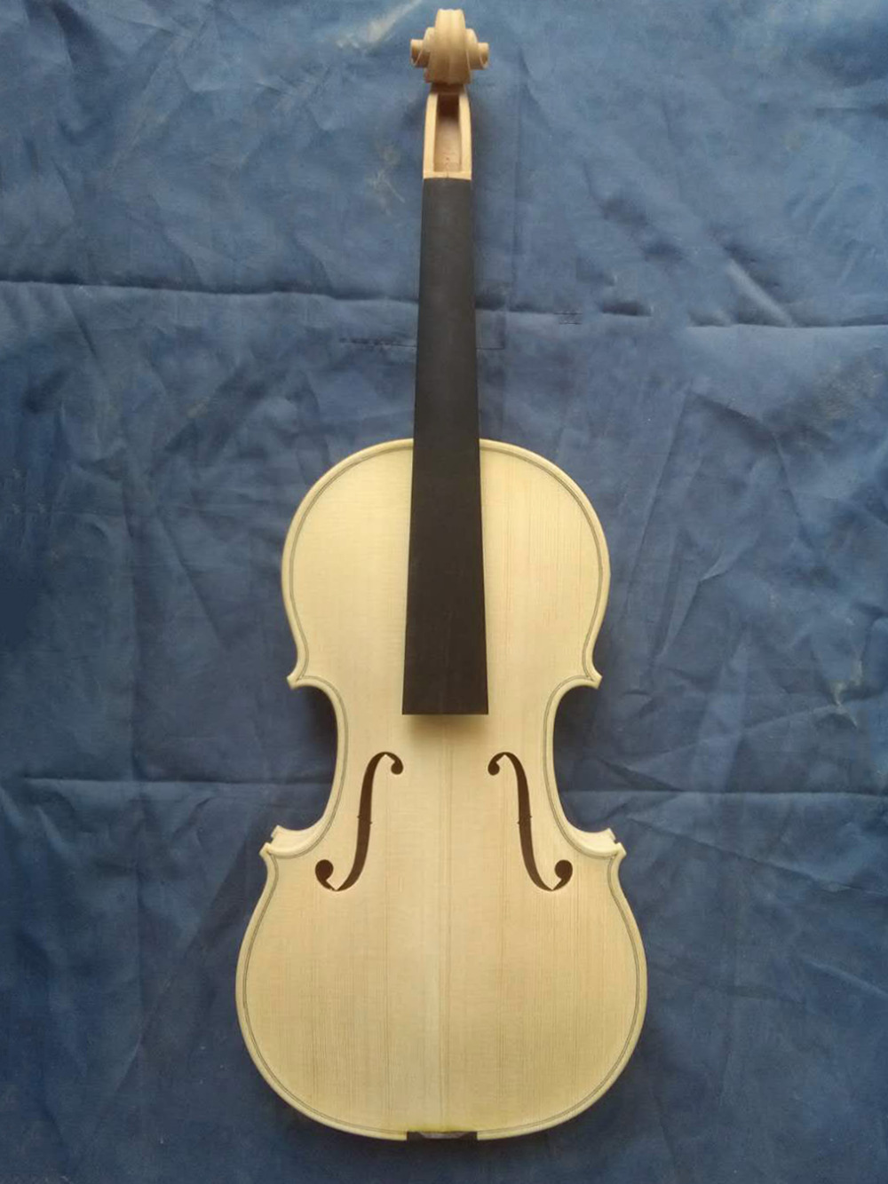 Free Shipping Pure European Wood Copy Stradivarius 100% Handmade White Violin FPVN04 with Foam Case free shipping copy stradivarius 1716 100% handmade oil varnish violin carbon fiber bow foam case fpvn04 8